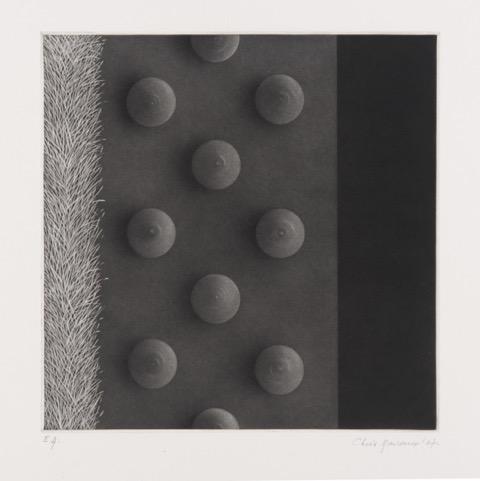 """Christine Ravaux, """"Chemin noir"""", 2017 (źródło: materiały prasowe organizatora)"""