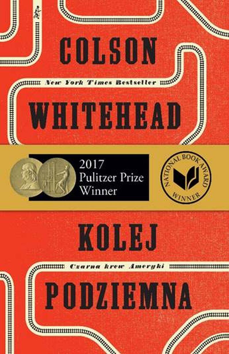 """Colson Whitehead, """"Kolej podziemna. Czarna krew Ameryki"""" (źródło: materiały prasowe wydawcy)"""