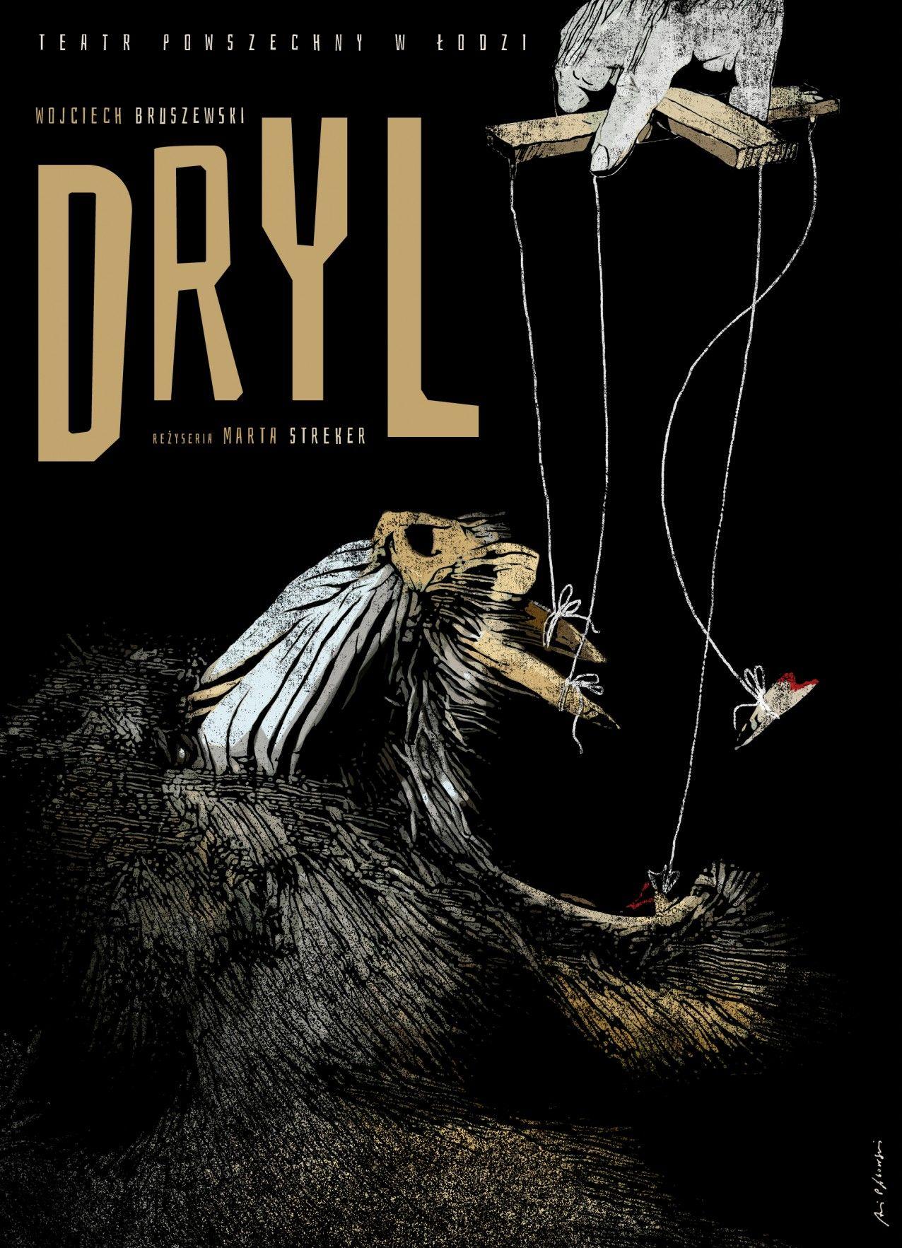 """Wojciech Bruszewski, """"Dryl"""", reż. Marta Streker (źródło: materiały prasowe teatru)"""