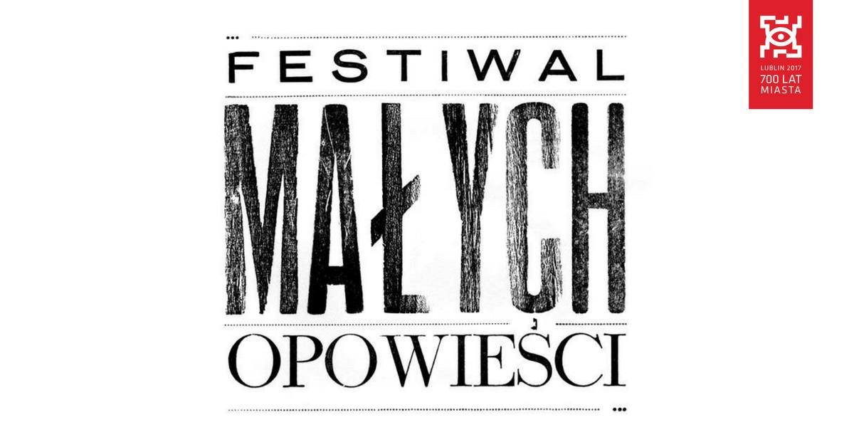 Festiwal Małych Opowieści – logotyp (źródło: materiały prasowe organizatora)