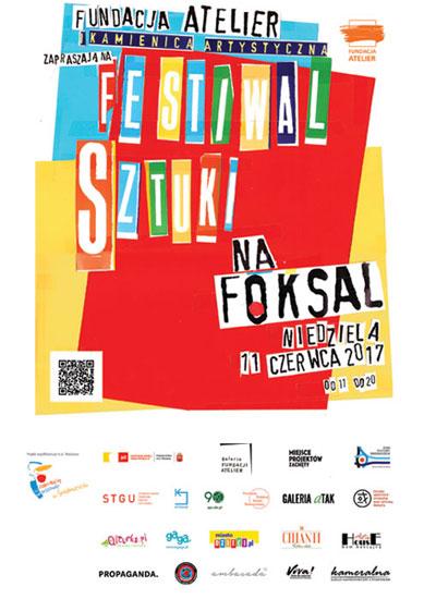 Festiwal Sztuki na Foksal (źródło: materiały prasowe organizatora)