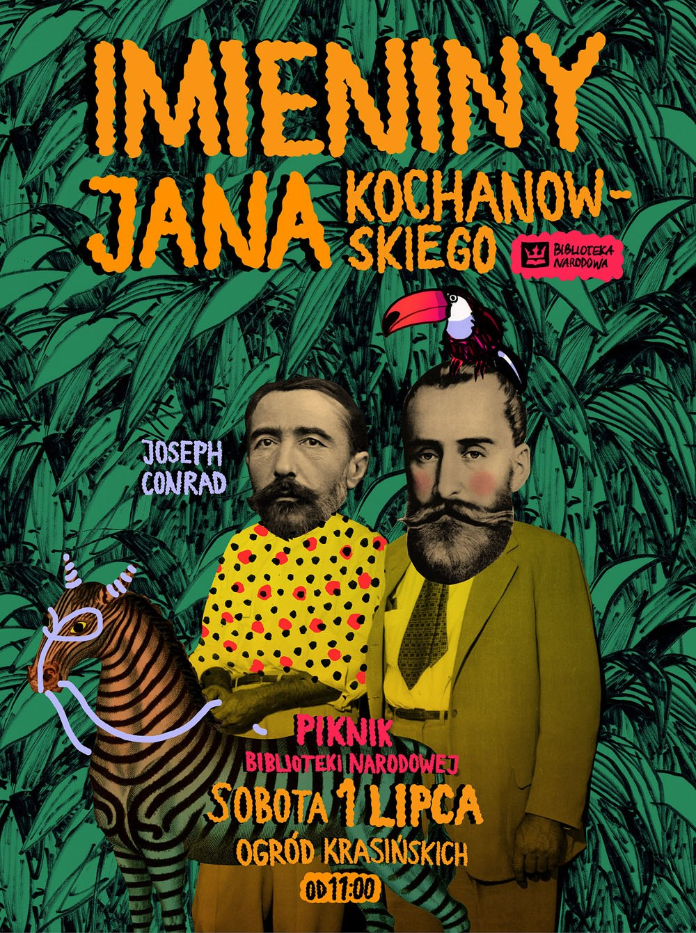 Imieniny Jana Kochanowskiego – plakat (źródło: materiały prasowe organizatora)