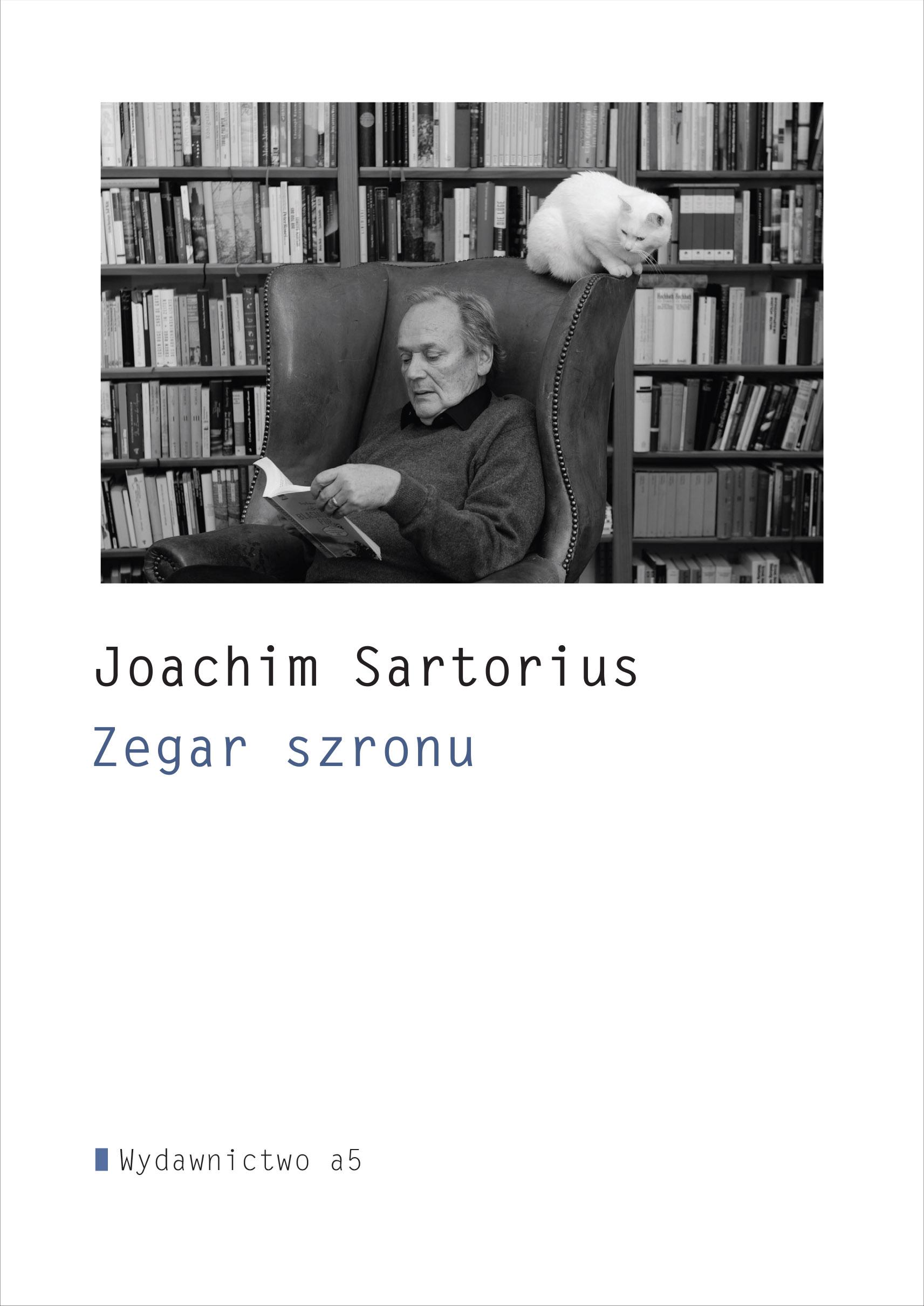 """Joachim Sartorius, """"Zegar szronu i inne wiersze"""" (źródło: materiały prasowe organizatora)"""
