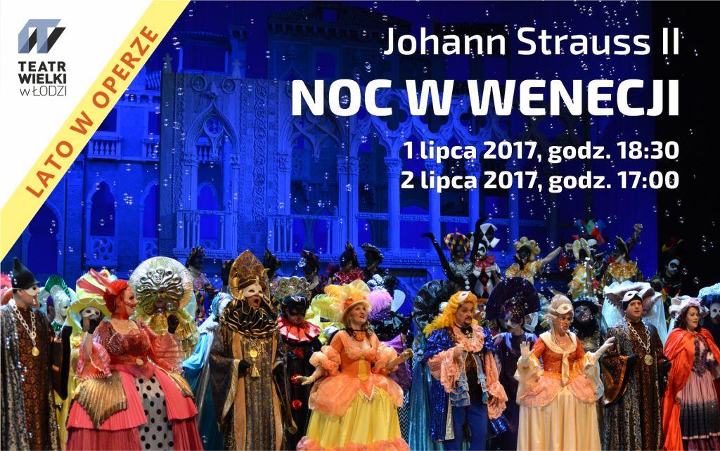 """Johann Strauss II, """"Noc w Wenecji"""", reż. Artur Hoffman (źródło: materiały prasowe teatru)"""