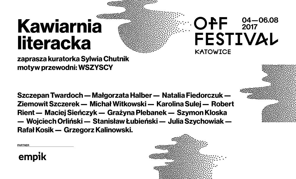 Kawiarnia Literacka na OFF Festivalu (źródło: materiały prasowe)