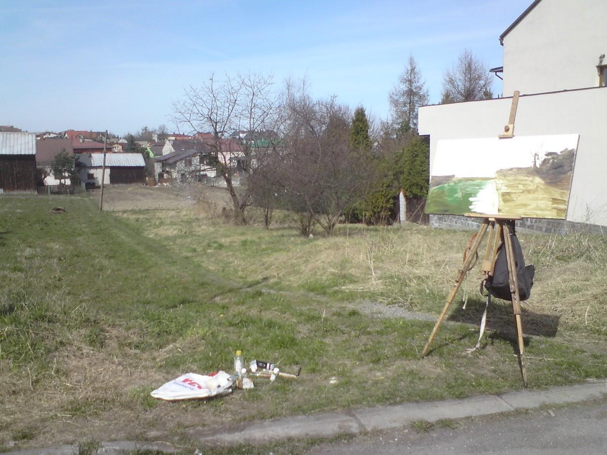 """Krzysztof Klimek, """"Skała, wiosna"""" (źródło: materiały prasowe organizatora)"""