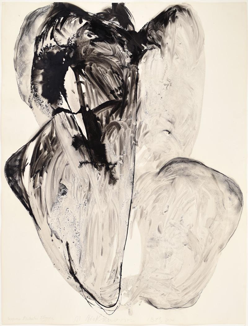 """Magdalena Abakanowicz, """"Tempora Mutantur Flower"""" z cyklu """"Wild Flowers"""", 1999 (źródło: materiały prasowe organizatora)"""