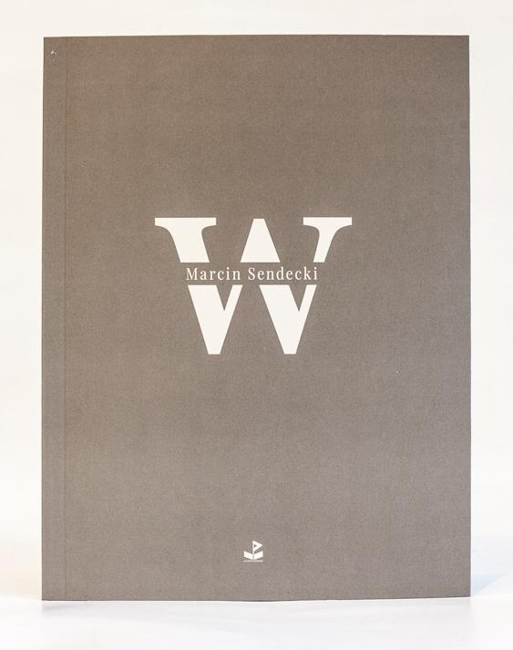 """Marcin Sendecki, """"W"""" – okładka (źródło: materiały prasowe organizatora nagrody)"""