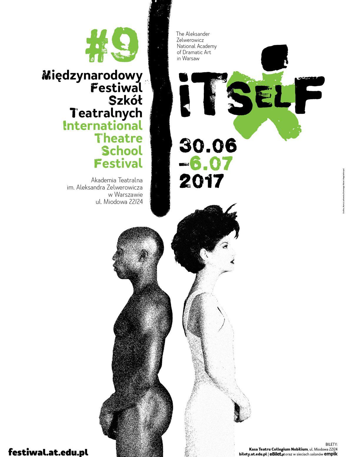 9. Międzynarodowy Festiwal Szkół Teatralnych ITSelF (źródło: materiały prasowe organizatora)