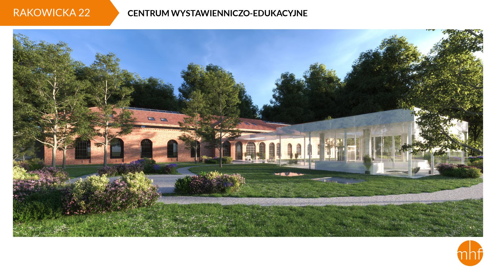 Centrum wystawienniczo-edukacyjne MHF, proj. LACHMAN PABICH ARCHITEKCI (źródło: materiały prasowe organizatora)