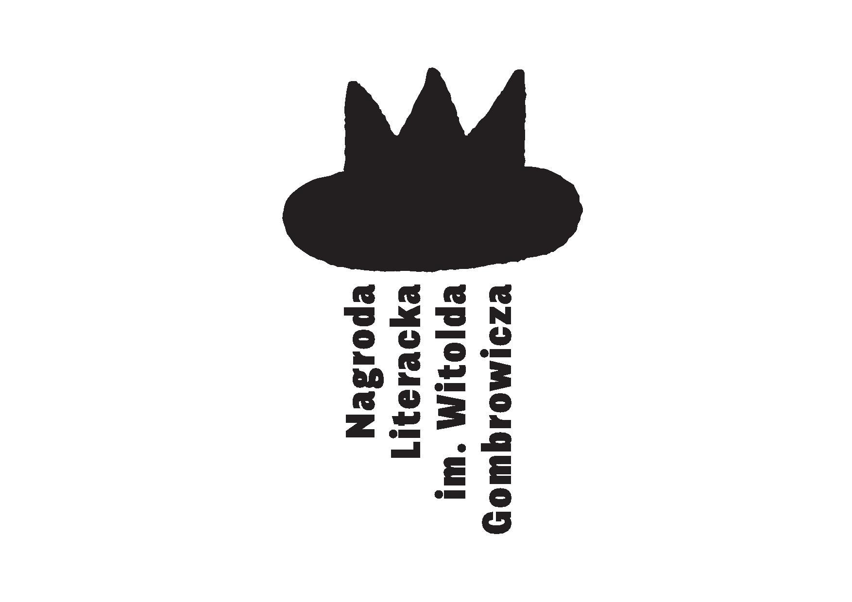 Nagroda Literacka im. Witolda Gombrowicza – logotyp (źródło: materiały prasowe)