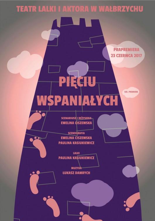 """""""Pięciu wspaniałych"""", scen. i reż. Ewelina Ciszewska (źródło: materiały prasowe teatru)"""