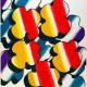 Plakat Wrocławskiego Święta Kwiatów, projekt Roman Rosyk, 1971 (źródło: materiały prasowe organizatora)