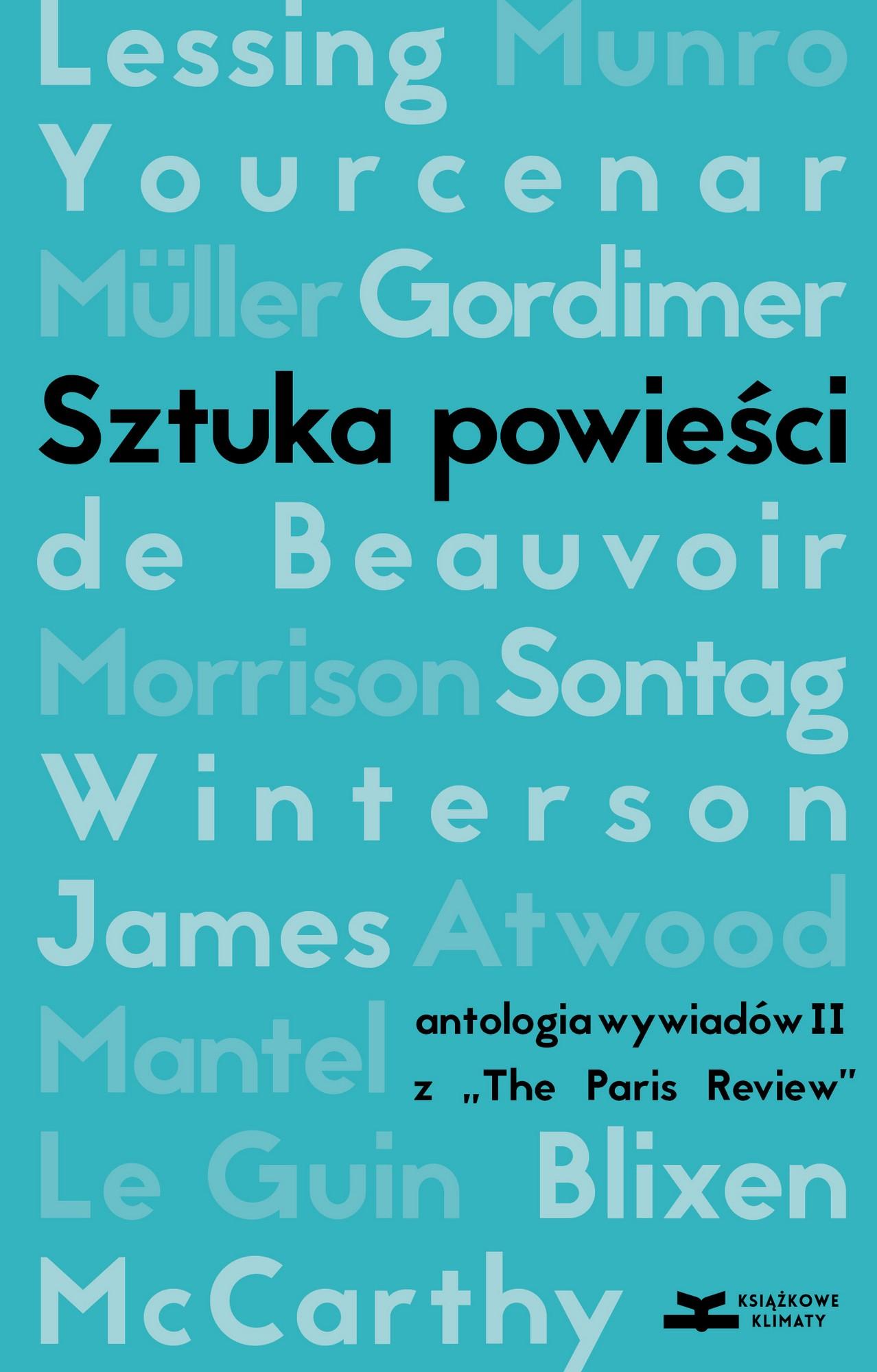 """""""Sztuka powieści. Antologia wywiadów z The Paris Review II"""" – okładka (źródło: materiały prasowe)"""