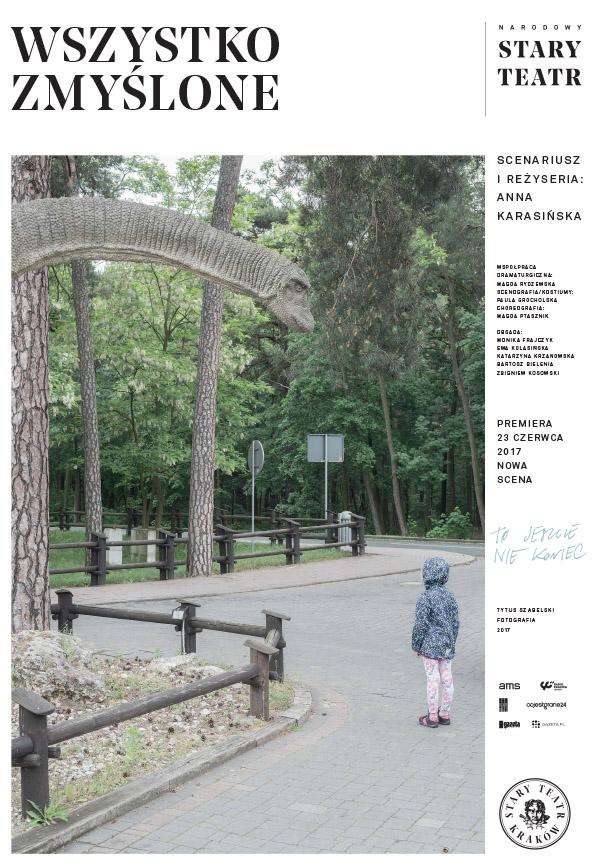 """""""Wszystko zmyślone"""", reż. Anna Karasińska, fot. Tytus Szabelski (źródło: materiały prasowe teatru)"""