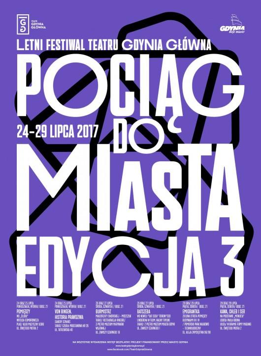 3. Letni Festiwal Teatru Gdynia Główna (źródło: materiały prasowe organizatora)