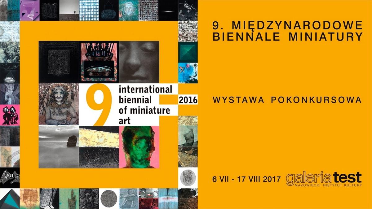 Międzynarodowe Biennale Miniatury (źródło: materiały prasowe organizatora)