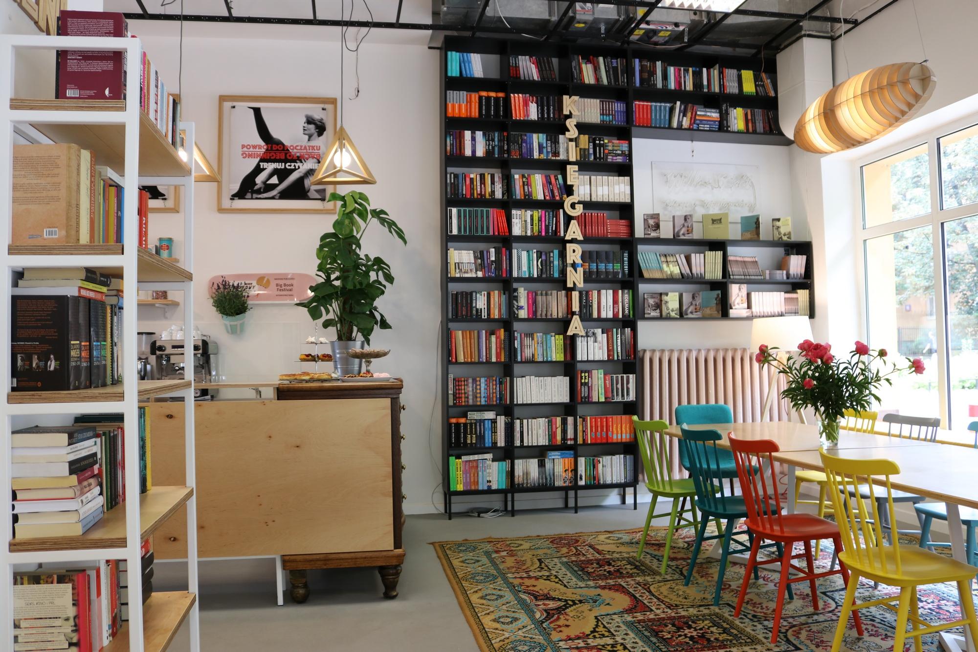 Big Book Cafe w Warszawie (źródło: materiały prasowe)