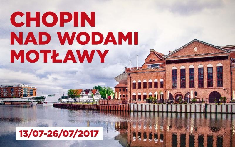 """""""Chopin nad wodami Motławy"""" (źródło: materiały prasowe organizatora)"""