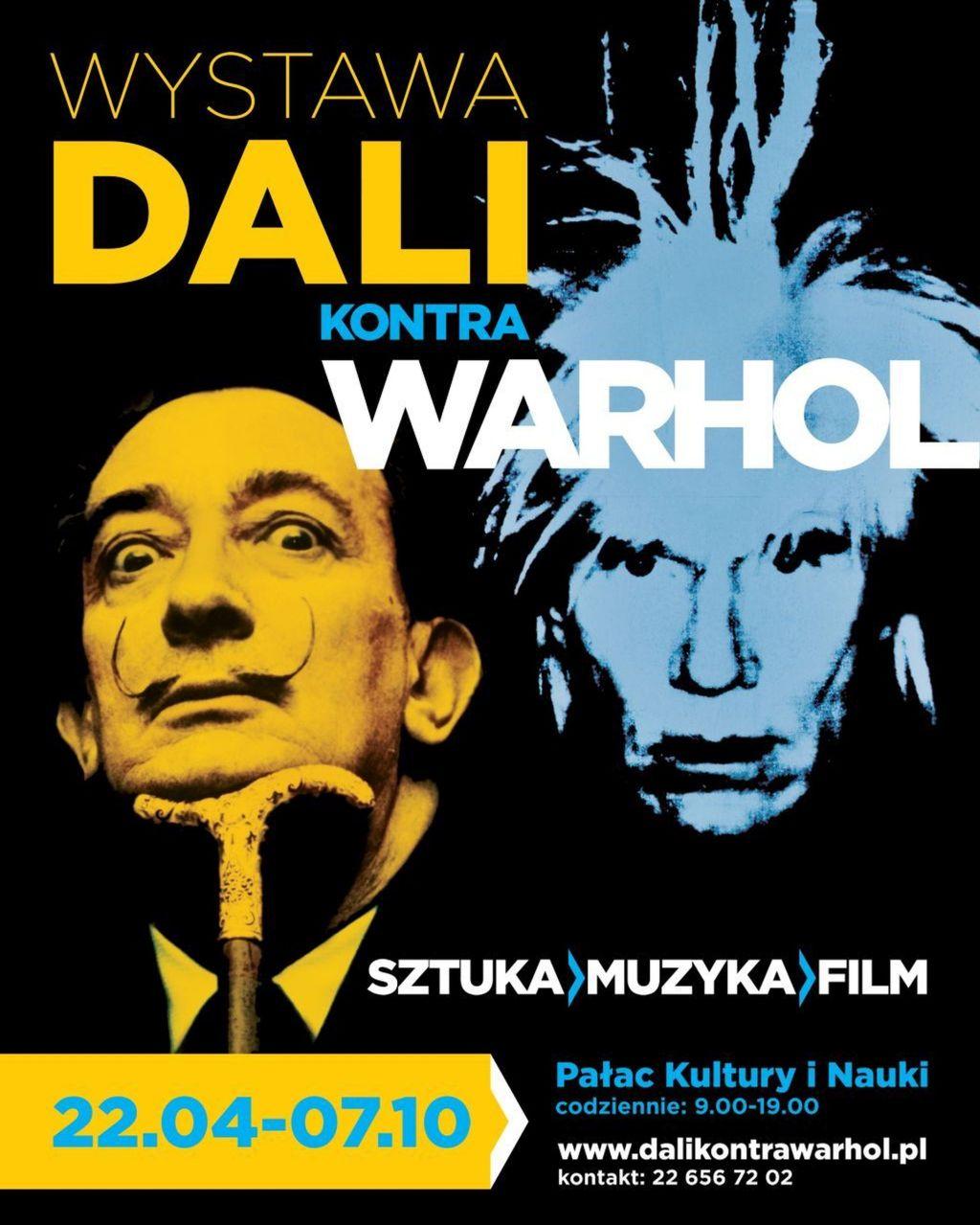 """Piotr Metz, """"Dali kontra Warhol"""" (źródło: materiały prasowe organizatora)"""