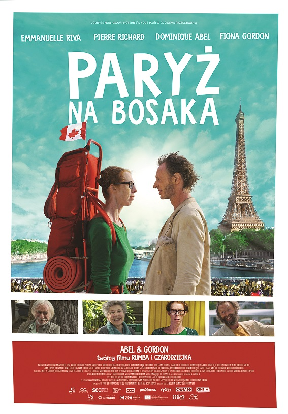 """""""Paryż na bosaka"""", reż. Dominique Abel i Fiona Gordon (źródło: materiały prasowe dystrybutora)"""