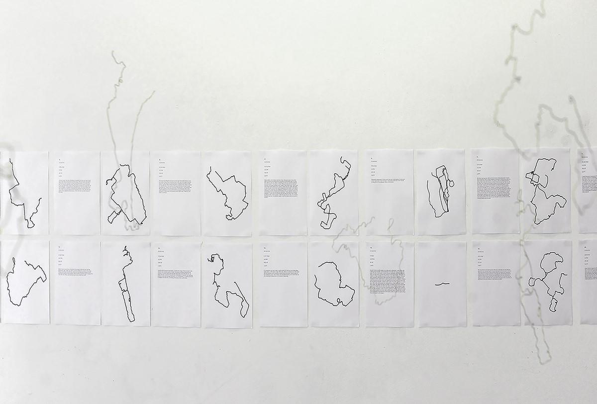 """Izabela Łęska, """"Spacery subiektywne"""", 2014 (źródło: materiały prasowe organizatora)"""