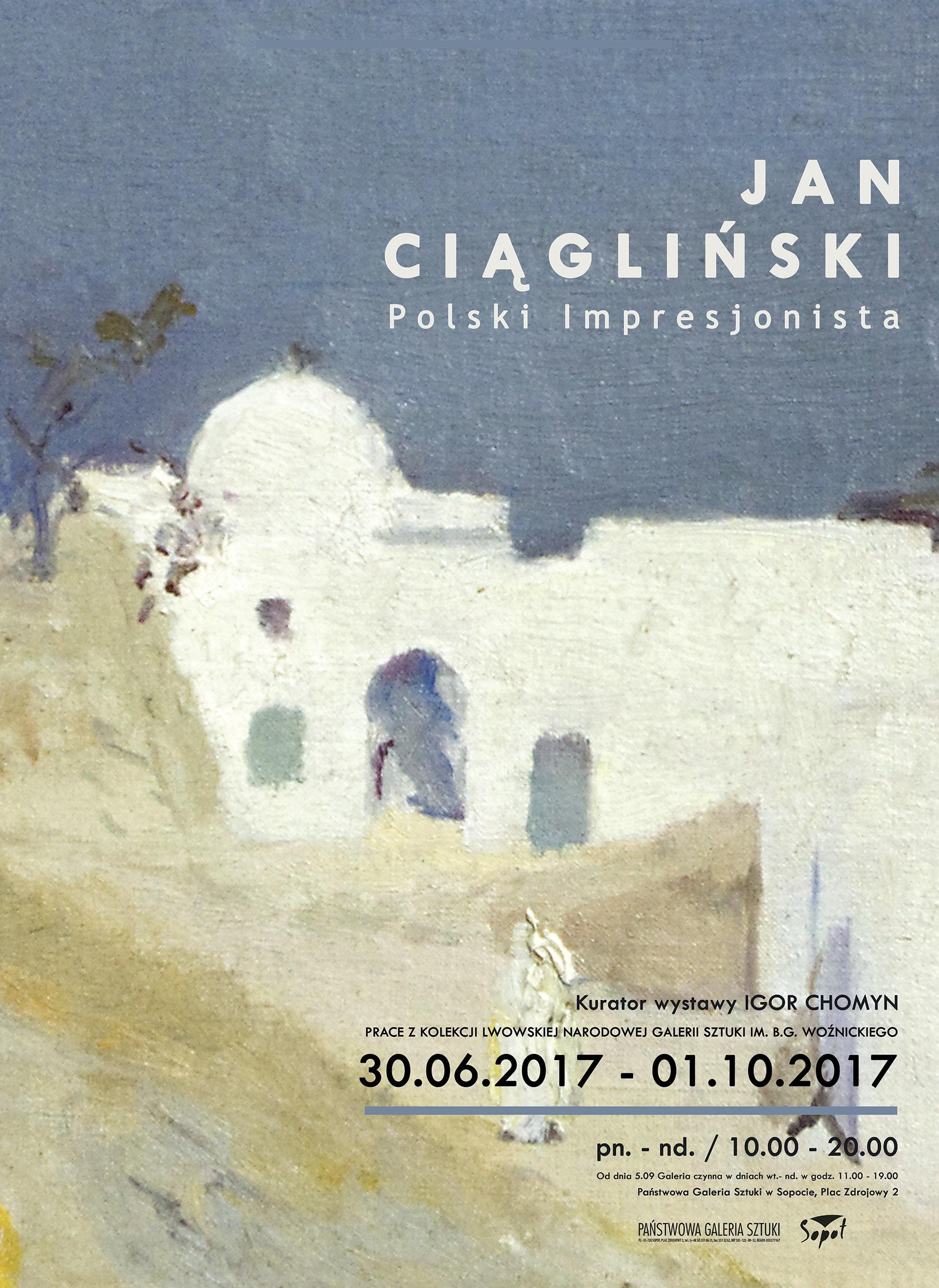 """""""Jan Ciągliński. Polski impresjonista"""" (źródło: materiały prasowe organizatora)"""