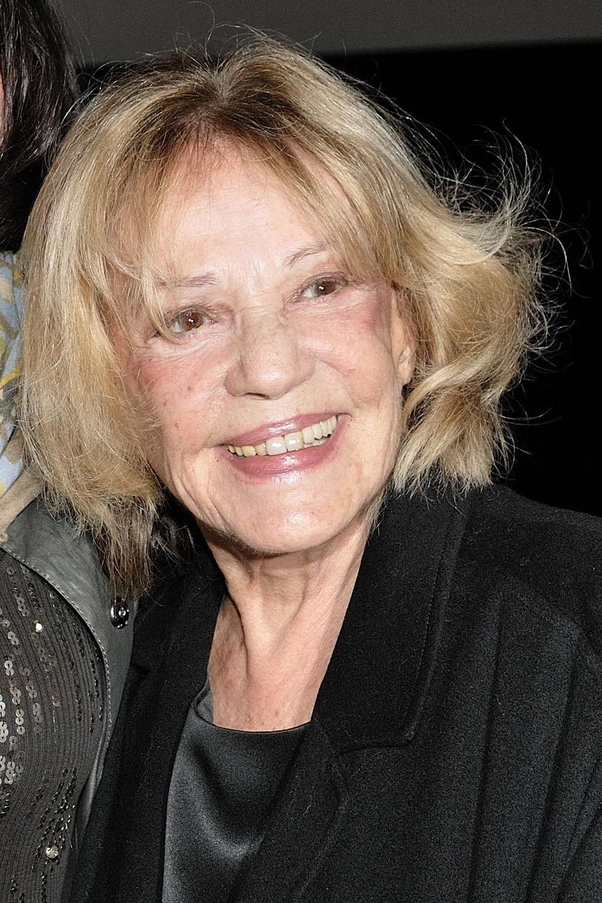 Jeanne Moreau, fot. Nicolas Genin/ABACAPRESS.COM (CC BY-SA 2.0)