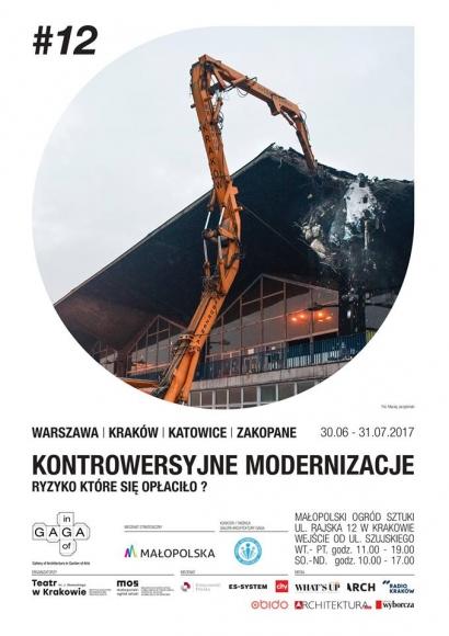 """""""Kontrowersyjne modernizacje"""" (źródło: materiały prasowe organizatora)"""