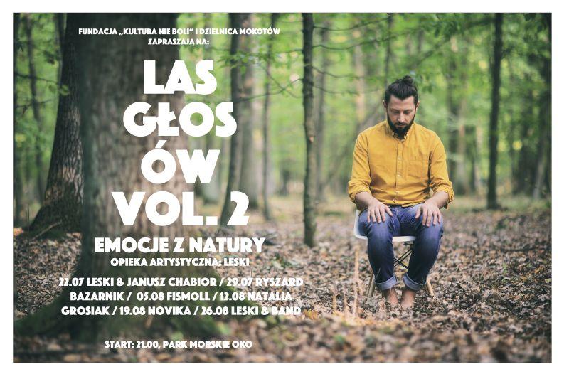 """Las głosów vol. 2. """"Emocje z natury"""" (źródło: materiały prasowe organizatora)"""