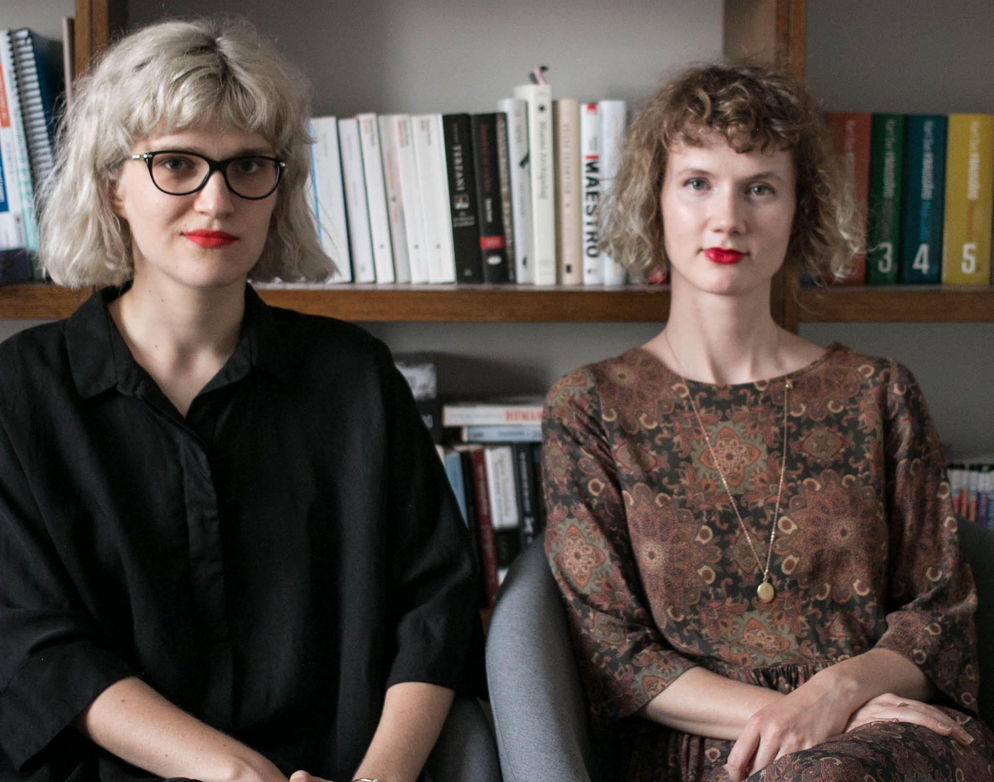 Karolina Bednarz i Dorota Groyecka (źródło: materiały prasowe wydawcy)