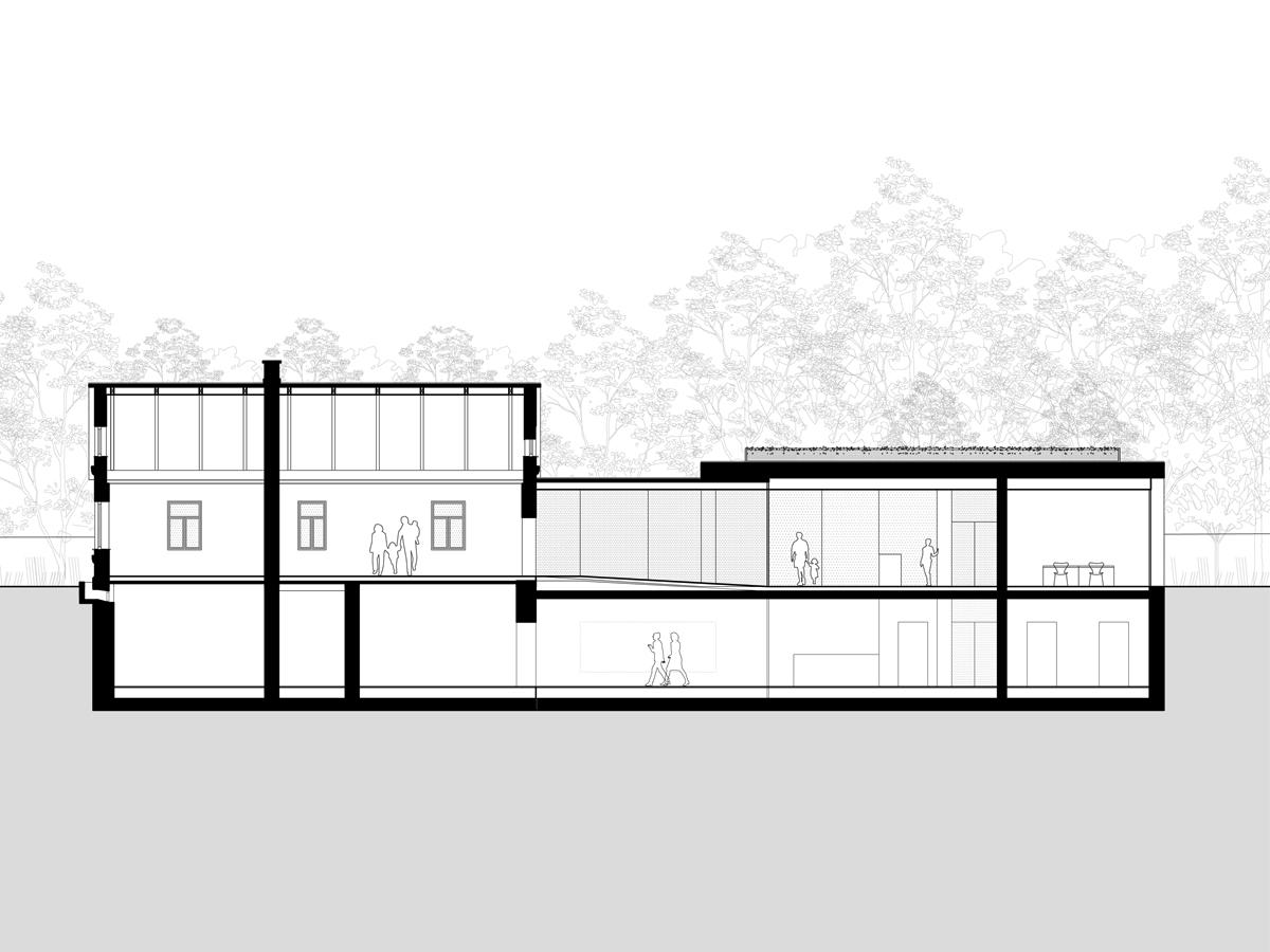 Muzeum – Dom Rodziny Pileckich w Ostrowi Mazowieckiej, proj. BDR Architekci (źródło: materiały prasowe)