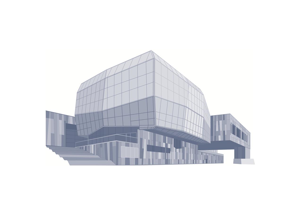 Centrum Nauki Kopernik rys. Mateusz Gryzło (źródło: materiały prasowe wydawcy)
