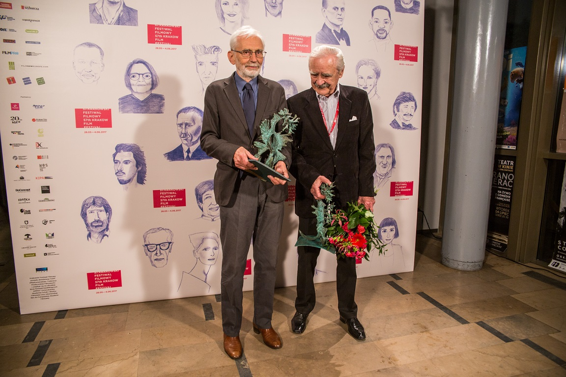 Daniel Szczechura i Witold Giersz na 57.KFF, fot. Agnieszka Fiejka (źródło: materiały prasowe organizatora)