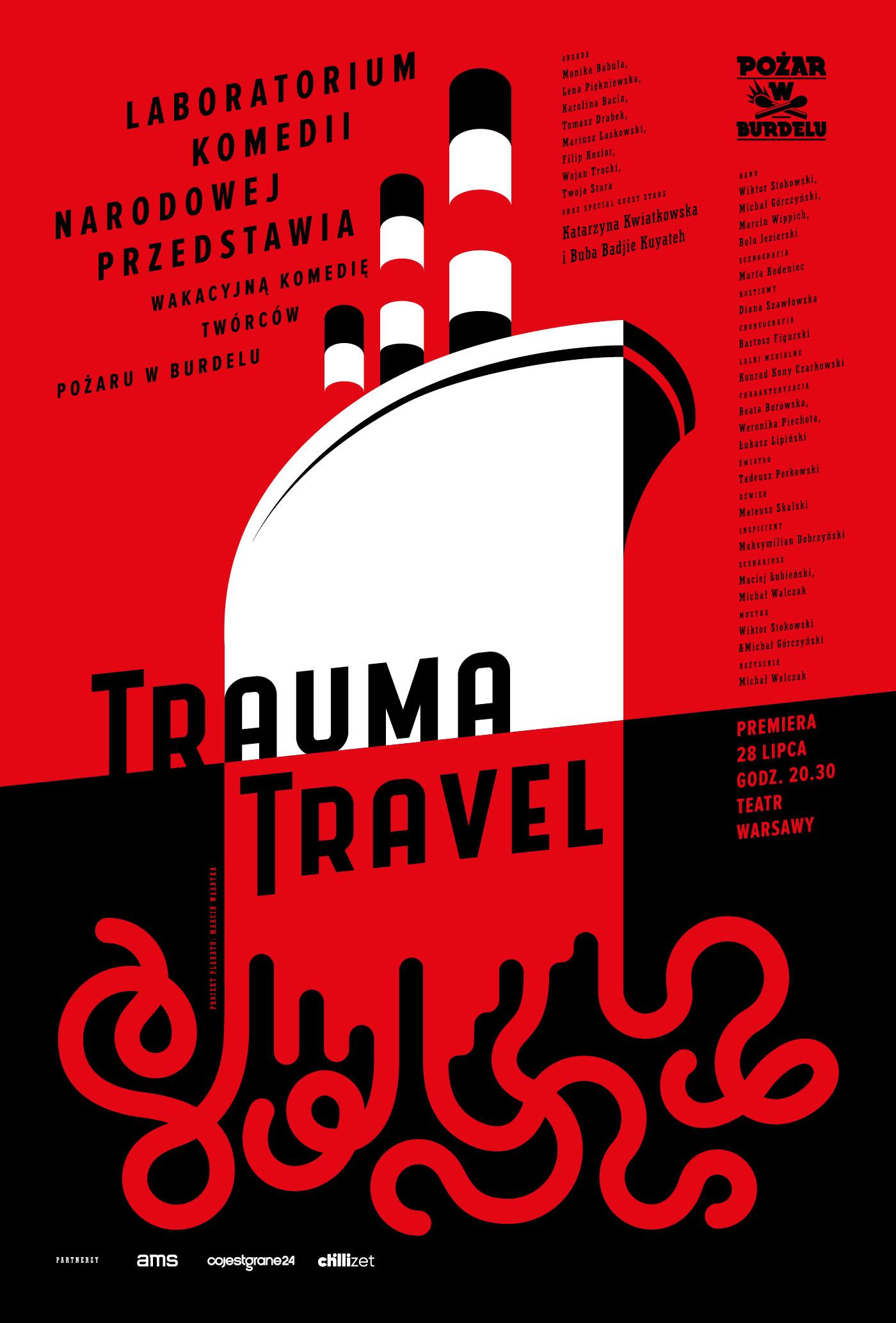 """""""Trauma Travel"""", reż. Michał Walczak (źródło: materiały prasowe teatru)"""