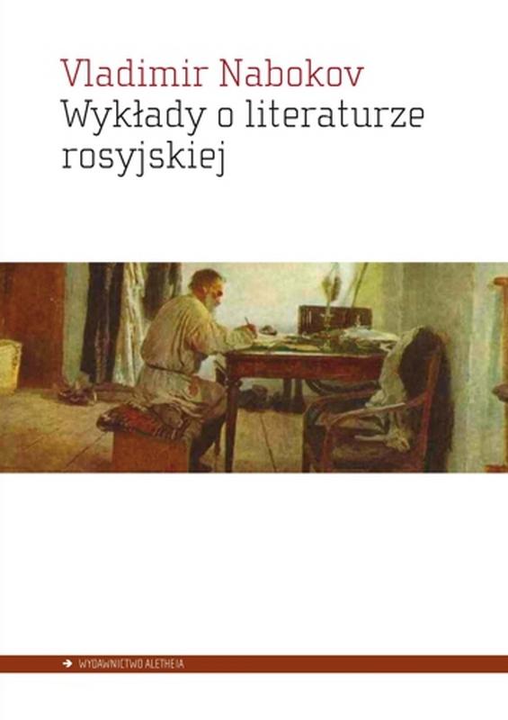 """Vladimir Nabokov,""""Wykłady o literaturze rosyjskiej"""" – okładka (źródło: materiały prasowe wydawcy)"""
