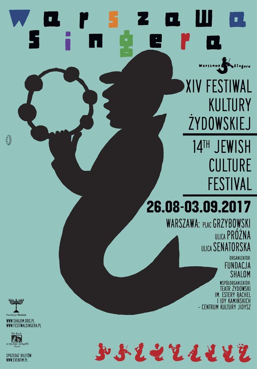 Festiwal Warszawa Singera – plakat (źródło: materiały prasowe organizatora)