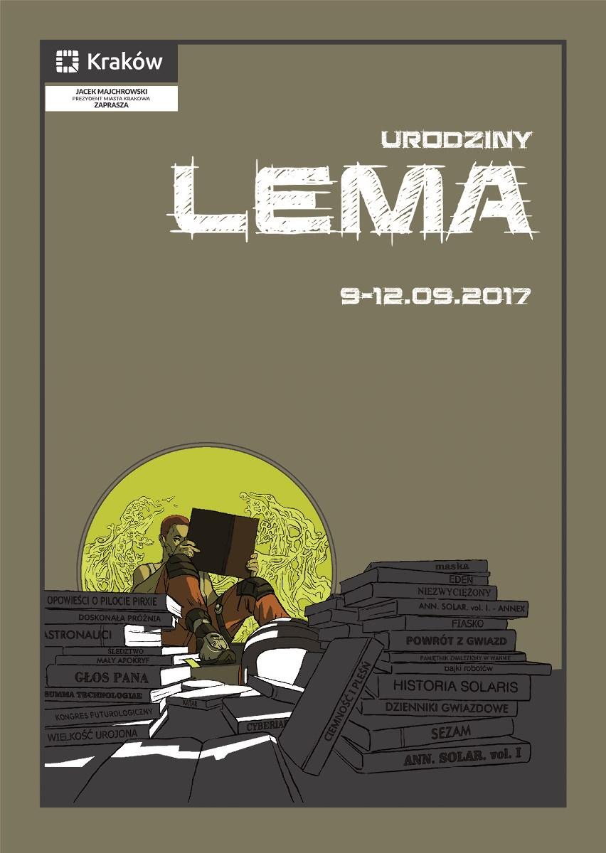 Urodziny Lema – plakat (źródło: materiały prasowe organizatora)