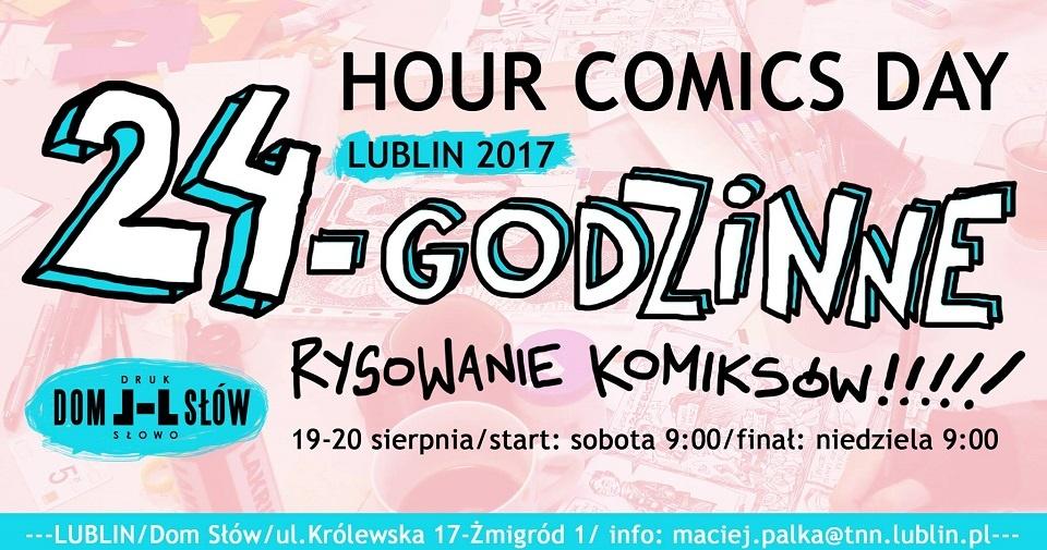 24-godzinny Maraton Komiksowy w Lublinie (źródło: materiały prasowe organizatora)