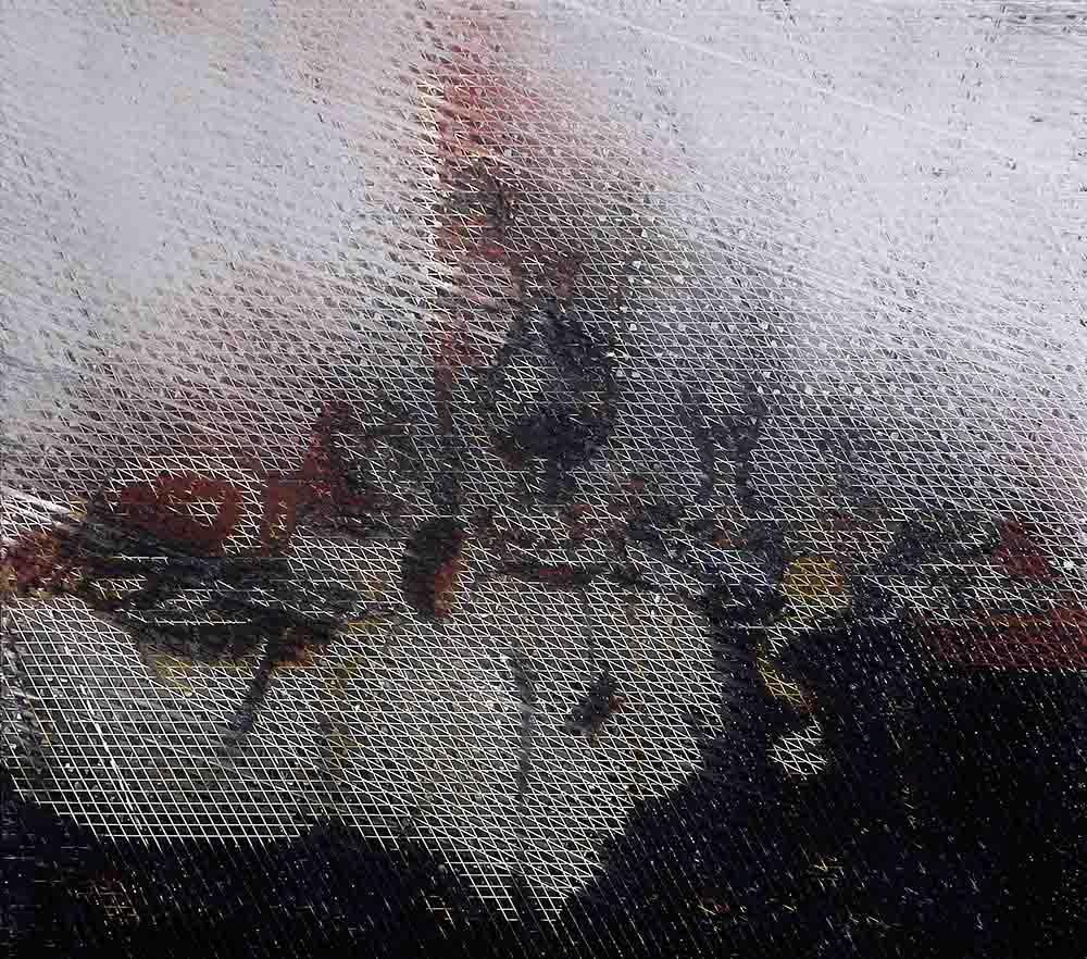 """Bartosz Czarnecki, """"Willem Claesz Heda. Martwa natura z szynką"""", 2017 (źródło: materiały prasowe organizatora)"""