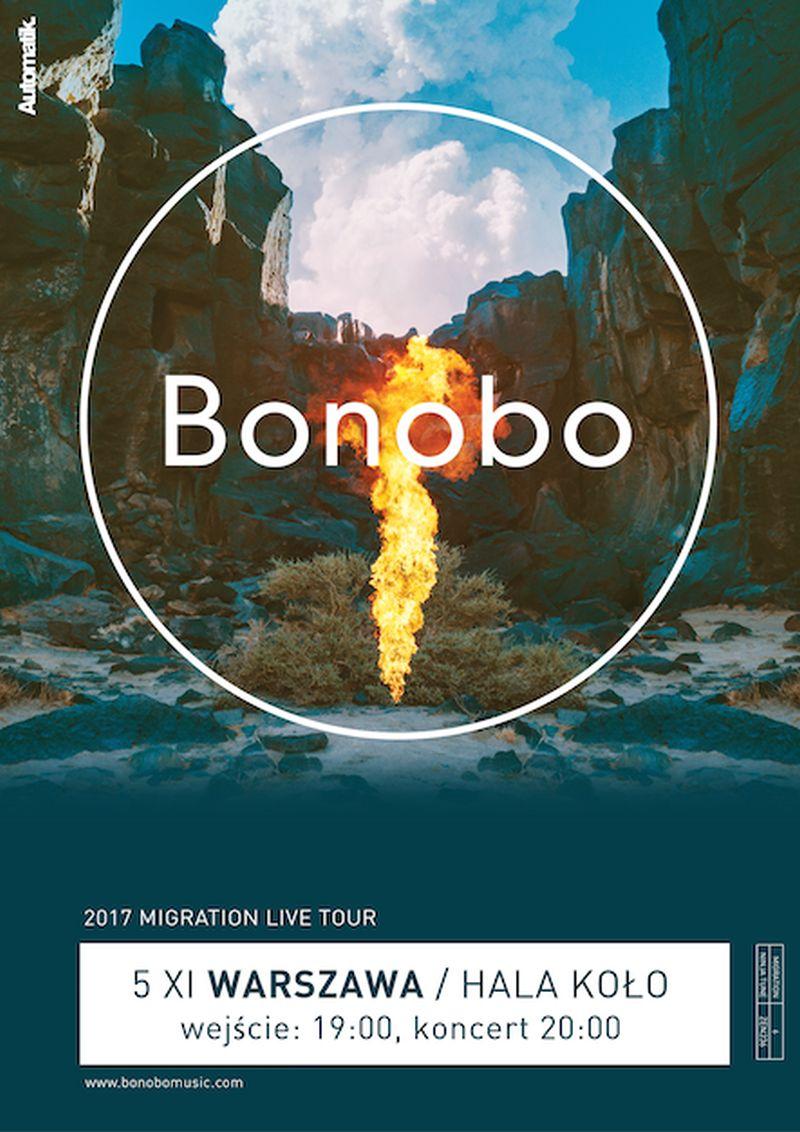 """Bonobo, """"Migration Tour"""" (źródło: materiały prasowe)"""