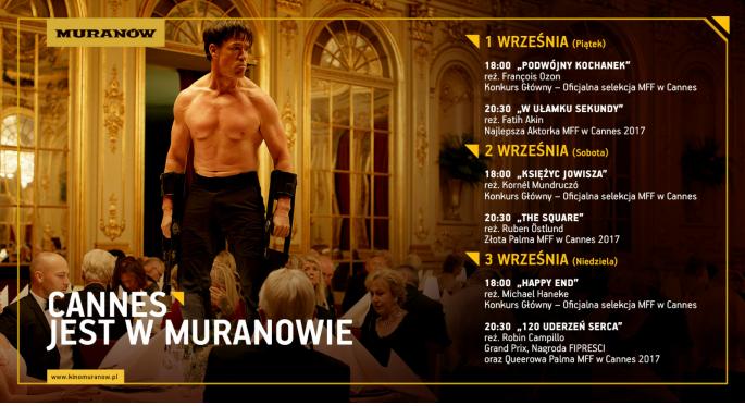 """""""Cannes jest w Muranowie"""" (źródło: materiały prasowe organizatora)"""