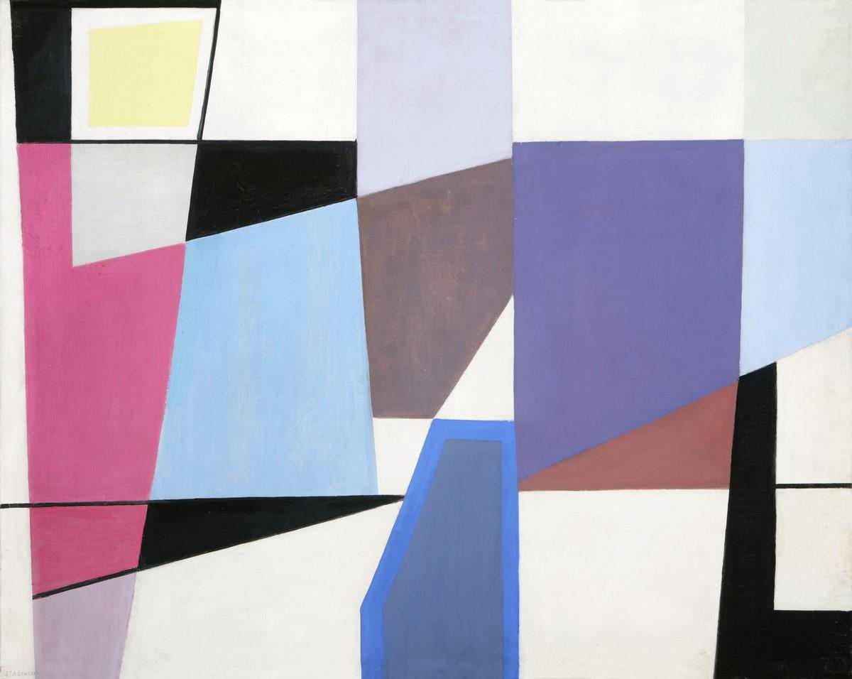 """Henryk Stażewski, """"Abstrakcja"""", 1949, Muzeum Narodowe w Poznaniu (źródło: materiały prasowe organizatora)"""