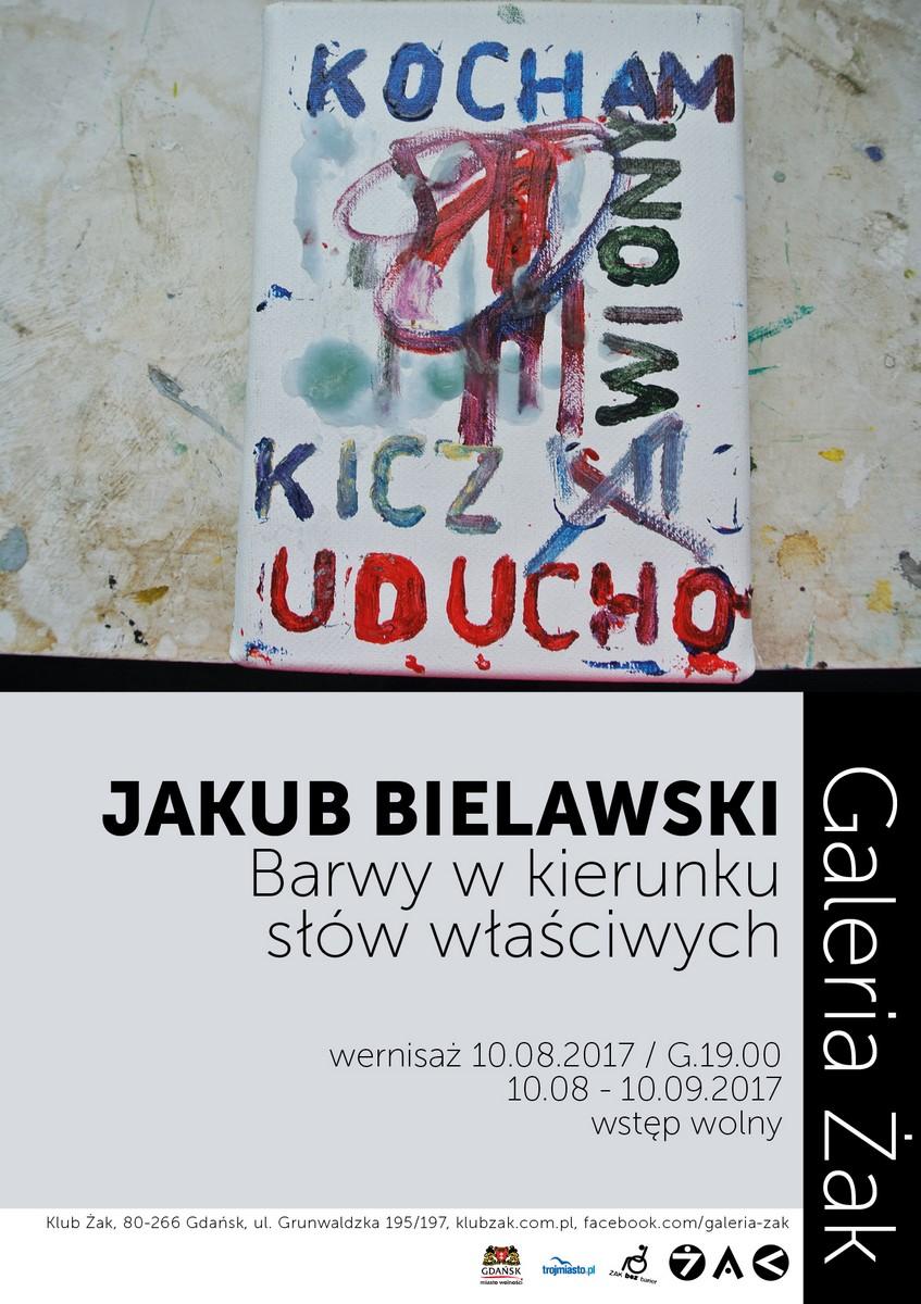 """Jakub Bielawski, """"Barwy w kierunku słów właściwych"""" (źródło: materiały prasowe organizatora)"""