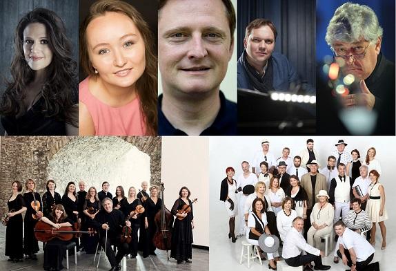 Artyści koncertu finałowego 12. MFM Mozartiana w Gdańsku (źródło: materiały prasowe organizatora)