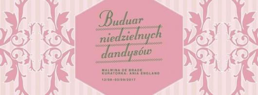 """Malwina de Brade, """"Buduar niedzielnych dandysów"""" (źródło: materiały prasowe organizatora)"""