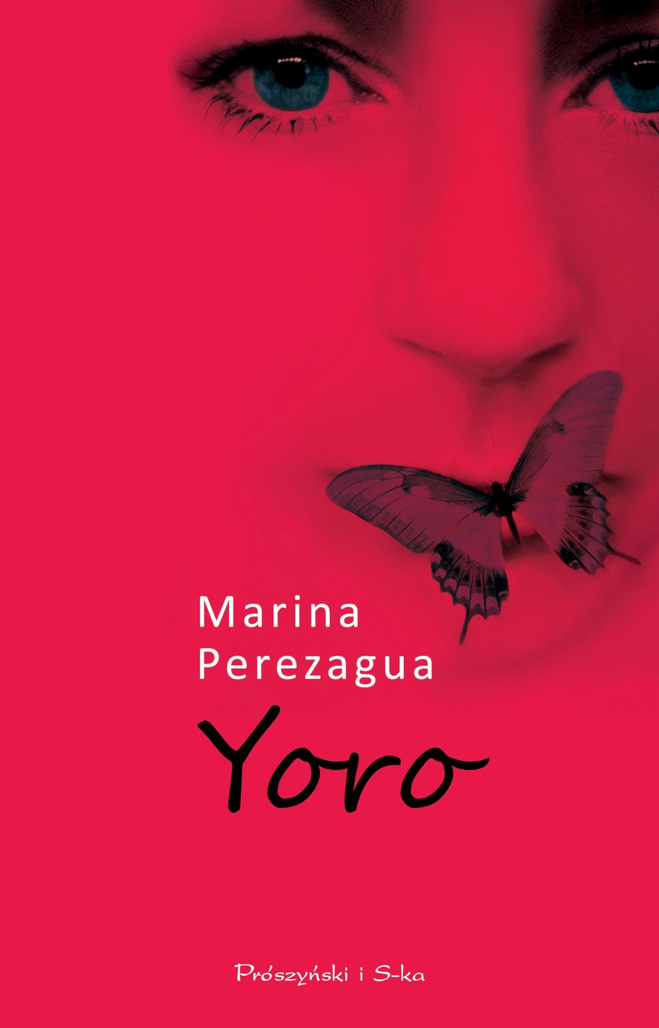 """Marina Perezagua,""""Yoro"""" – okładka (źródło: materiały prasowe wydawcy)"""