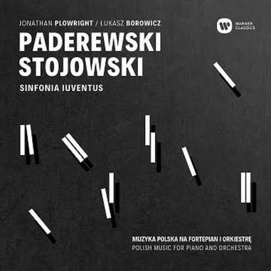 """""""Paderewski, Stojowski. Muzyka polska na fortepian i orkiestrę""""(źródło: materiały prasowe wydawcy)"""