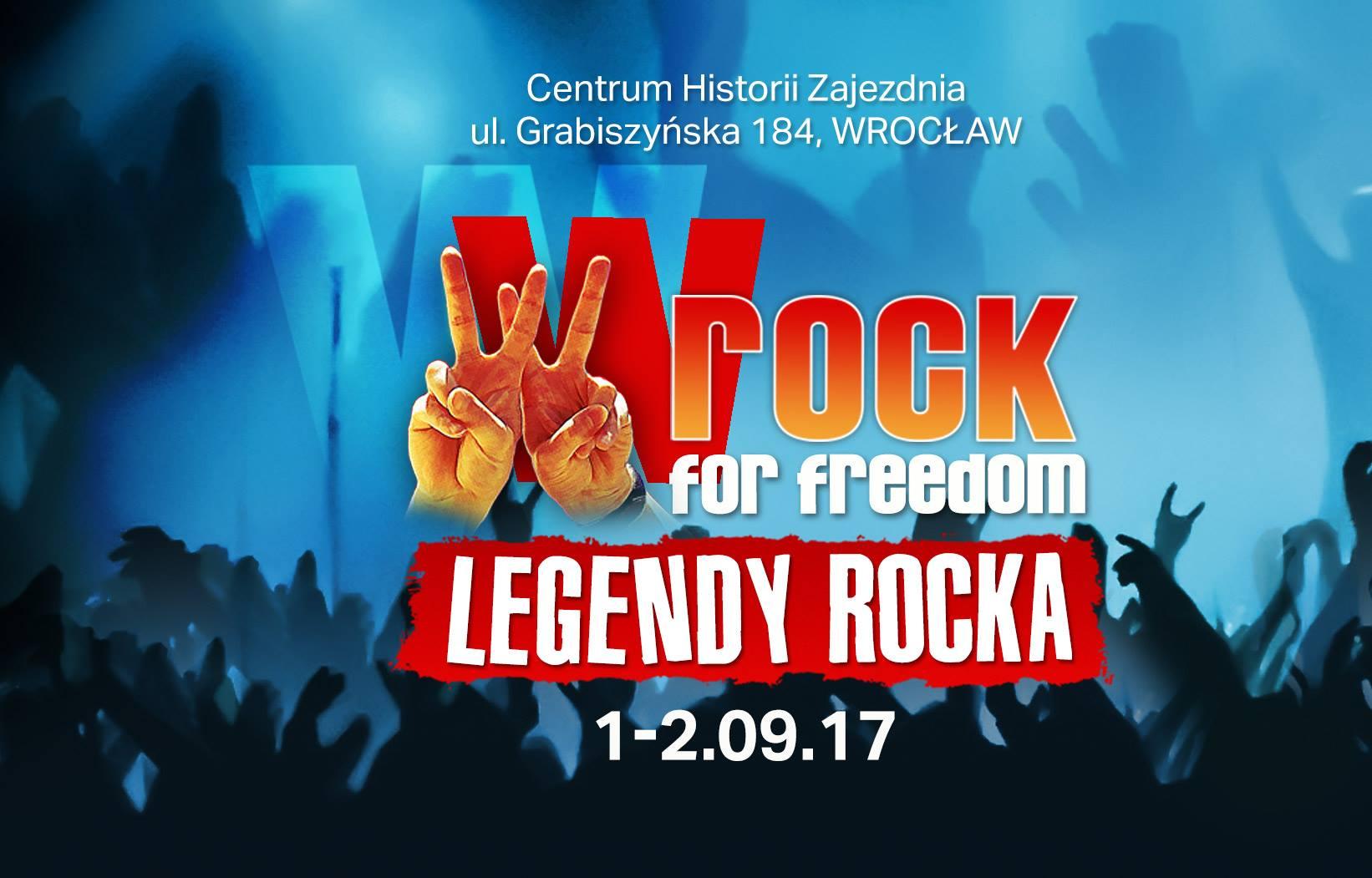 Festiwal wROCK for Freedom – Legendy Rocka we Wrocławiu (źródło: materiały prasowe)