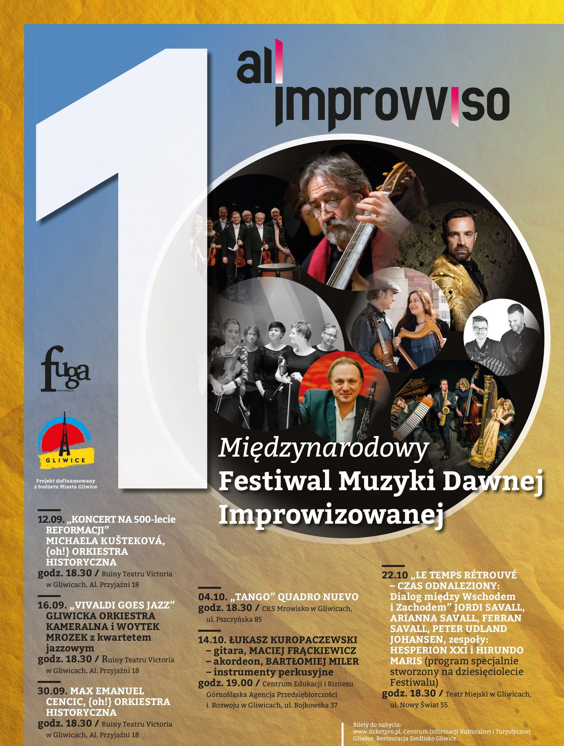 10. Międzynarodowy Festiwal Muzyki Dawnej Improwizowanej All'Improvviso (źródło: materiały prasowe)